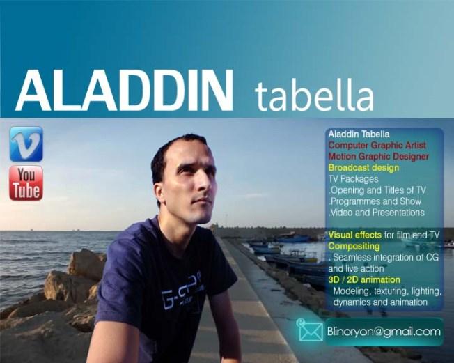 Aladdin Tabella , My Profile